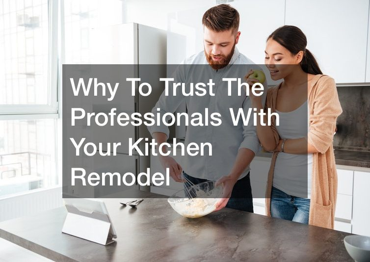 Why To Trust The Professionals With Your Kitchen Remodel